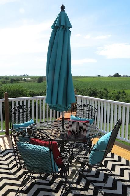 Mohawk rug chevron patio09