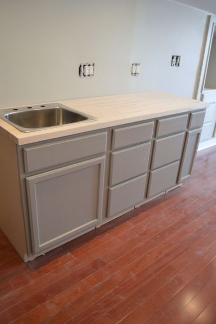 Behr Elephant Skin Cabinets6