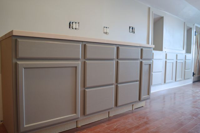 Behr Elephant Skin Cabinets7