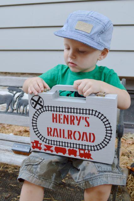 Personalized railroad briefcase2