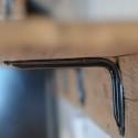 DIY barnwood shelf with brackets2