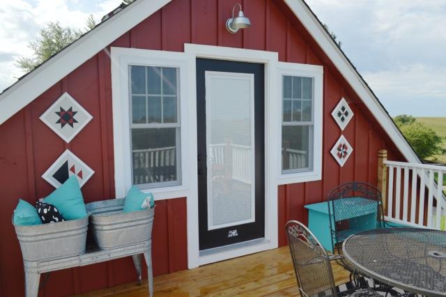 Jet black Behr patio door color3