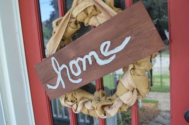 Making a home sign with Dremel NewlyWoodwards6