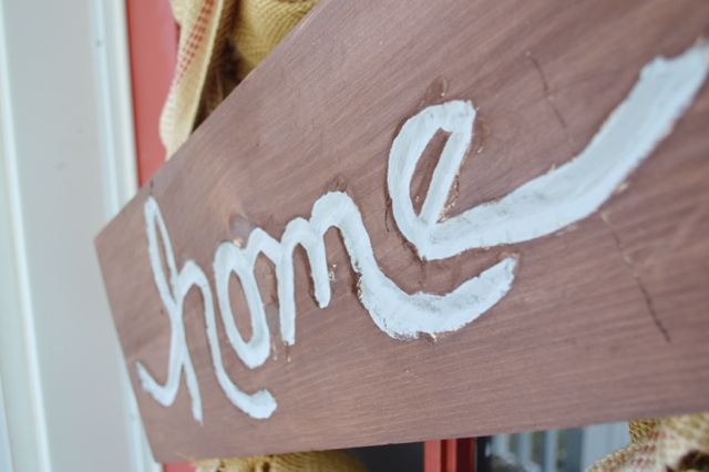 Making a home sign with Dremel NewlyWoodwards7