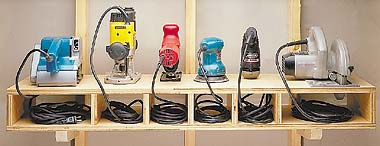 Power Tool Storage Solutions Plans DIY Free Download Wooden Spice