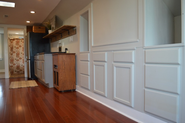 Built in cabinets barn apartment NewlyWoodwarfds1