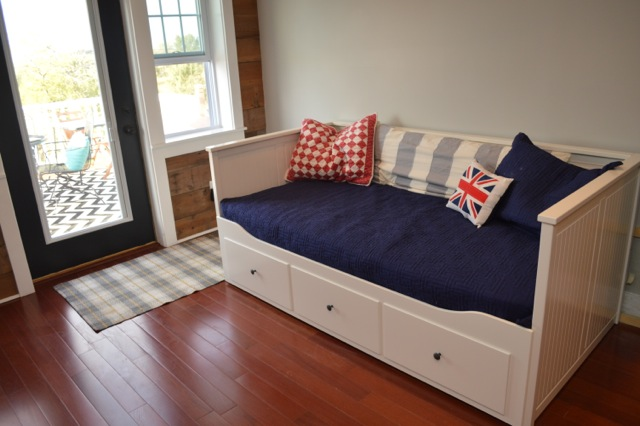 IKEA daybed NewlyWoodwards barn1