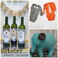 October Silhouette Projects