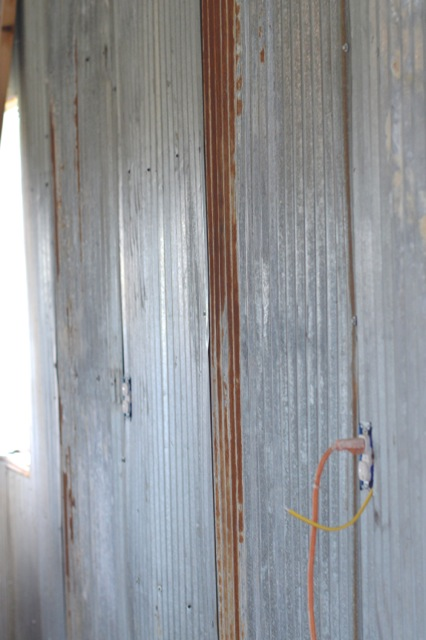 Upcycled metal walls barn garage5