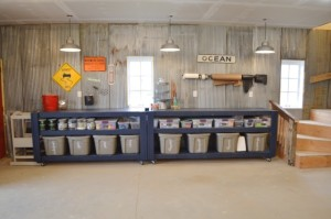 An organized garage: Finding order from chaos