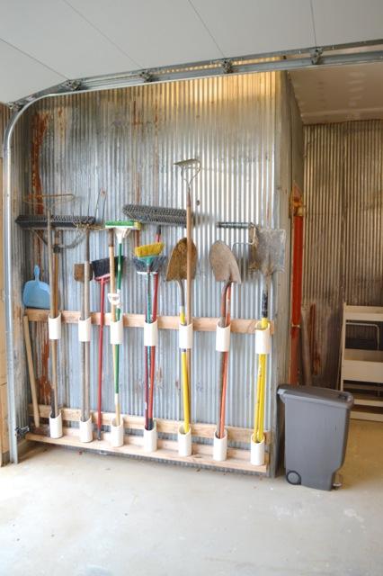 Barn garage workspace reveal NewlyWoodwards05