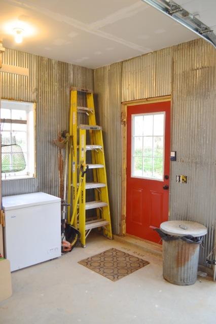 Barn garage workspace reveal NewlyWoodwards12