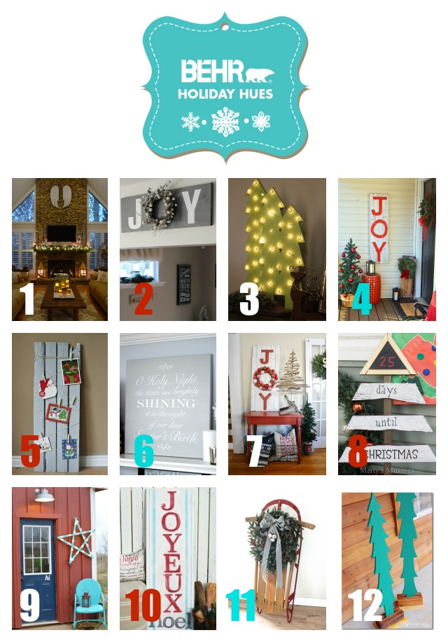 Behr Holiday Hues Project Option 1
