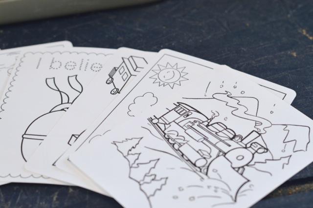 DIY holiday coloring book2