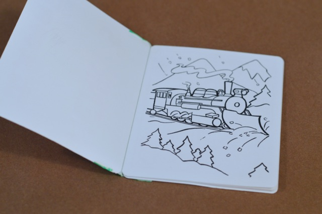 A Personalized Diy Coloring Book And Toy Train For
