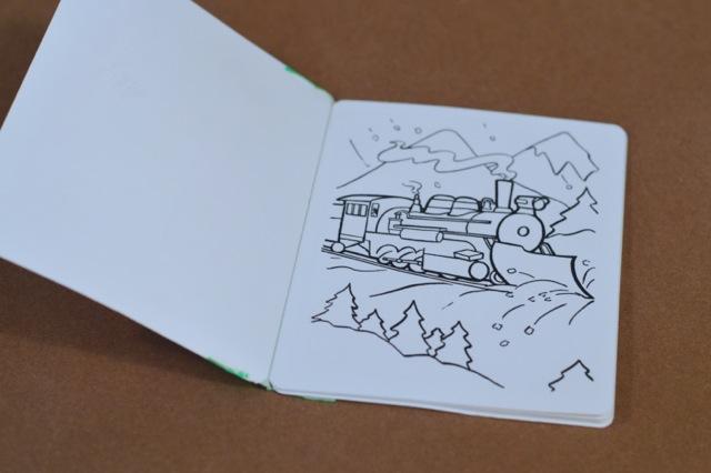 DIY holiday coloring book4