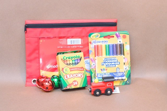 Holiday kids train gift package1