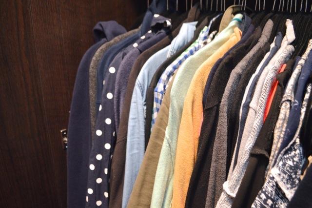 Sauder wardrobe small living6