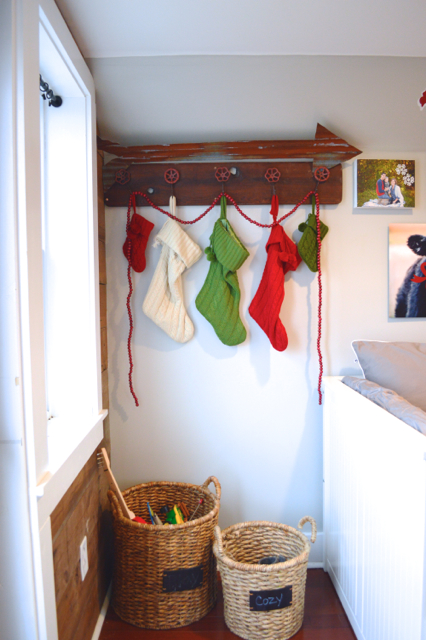 Christmas decor tiny house barn NewlyWoodwards01