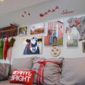 Christmas decor tiny house barn NewlyWoodwards07