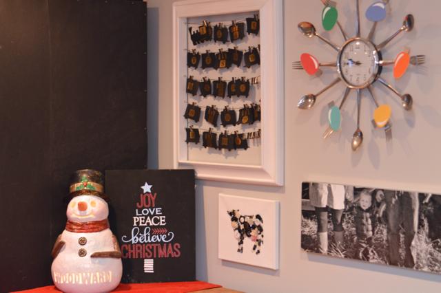 Christmas decor tiny house barn NewlyWoodwards27