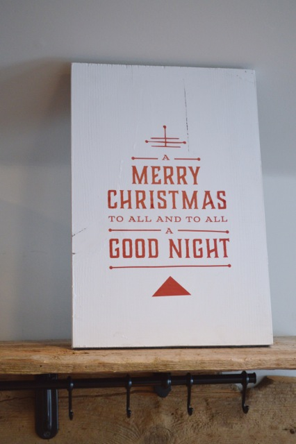 Merry Christmas sign1
