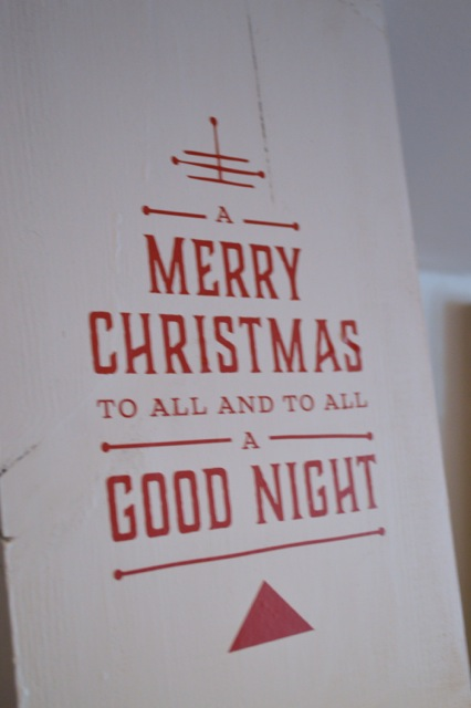 Merry Christmas sign2