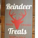 Reindeer treats DIY vinyl holiday sign1