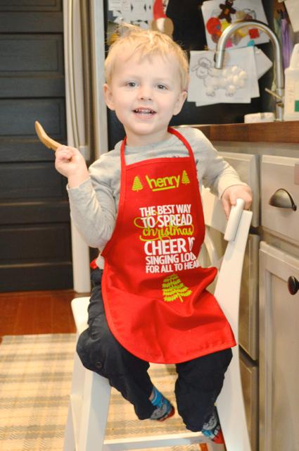 Christmas Henry baking1