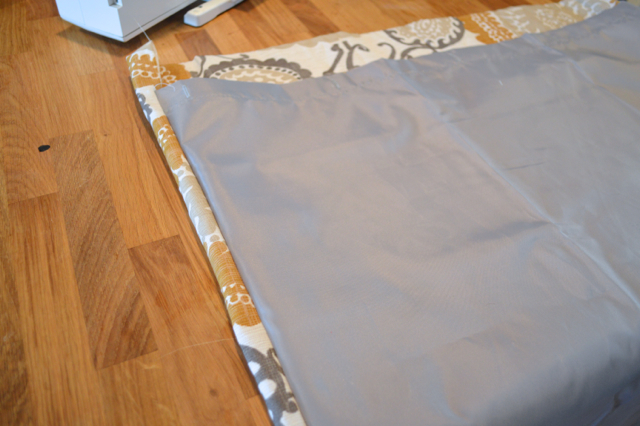 Making Lined Cafe Curtains From Large Curtain Panels Newlywoodwards