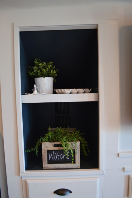 Mood built in shelves with Behr paint NewlyWoodwards06