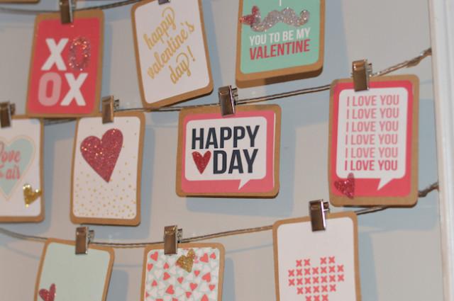 Valentine advent glitter Kim Woodward2