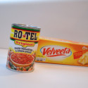 Velveeta and Ro*Tel Queso Steps1