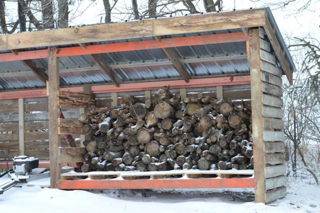 Firewood storage1