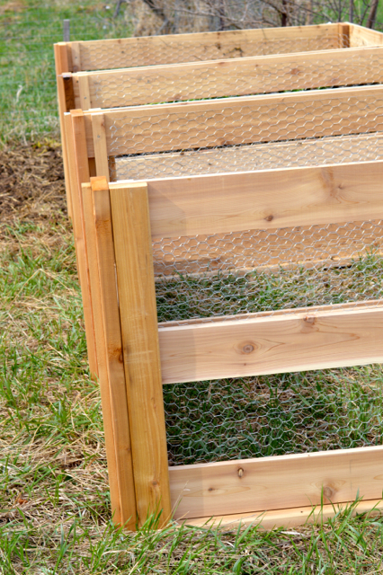 Cedar compost bins NewlyWoodwards3