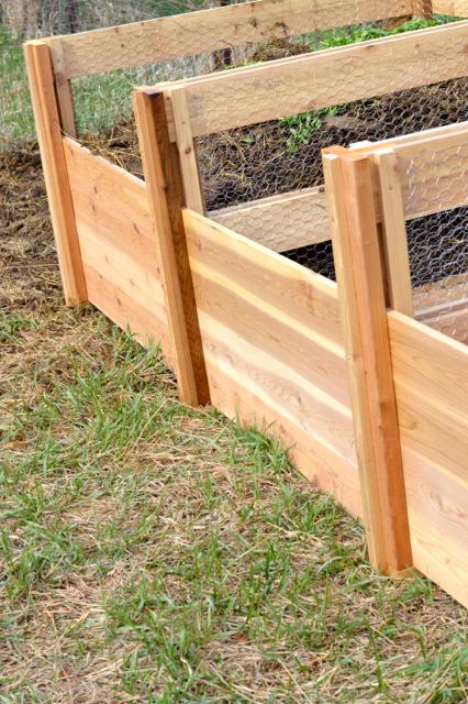 Cedar compost bins NewlyWoodwards4
