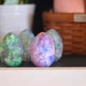 Wooden painted easter eggs2