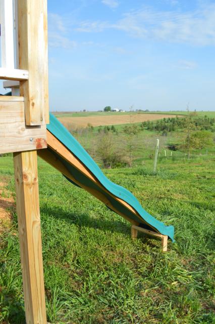 DIY Slide From Deck Platform3
