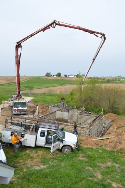 basement building progress newlywoodwards2
