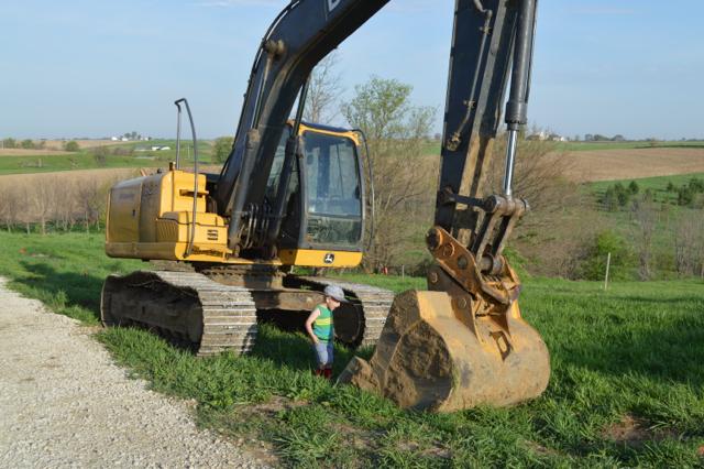 digging a foundation newlywoodwards01