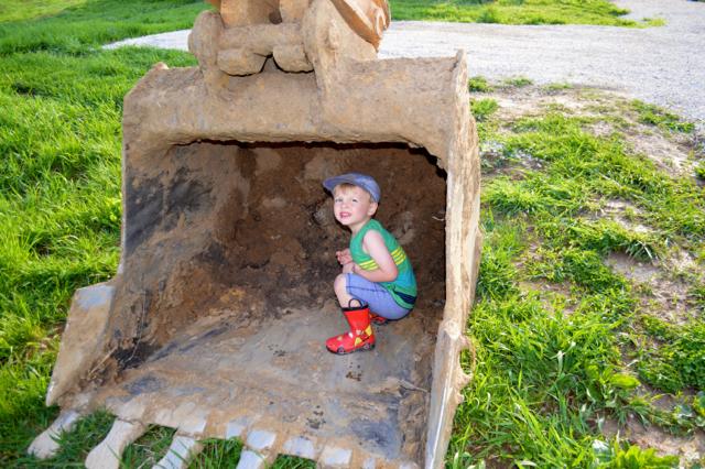 digging a foundation newlywoodwards02