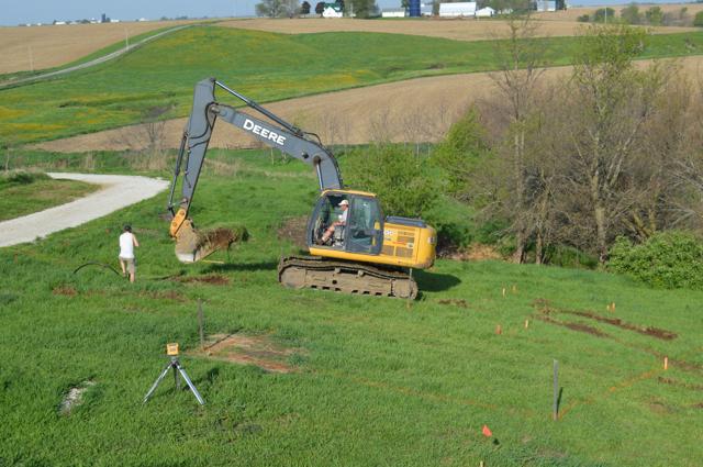 digging a foundation newlywoodwards04