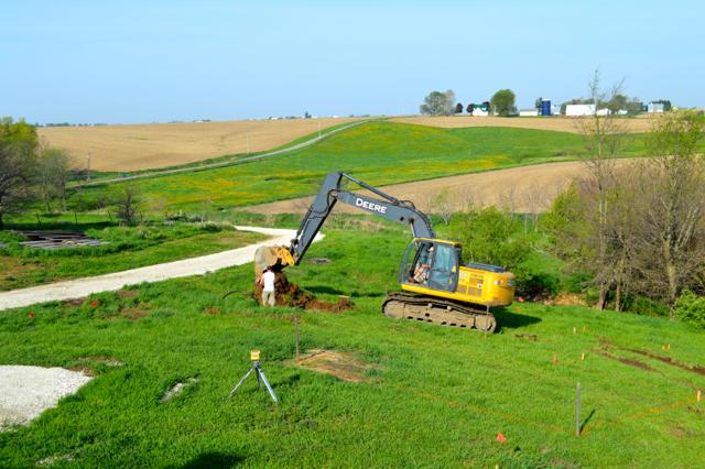 digging a foundation newlywoodwards05