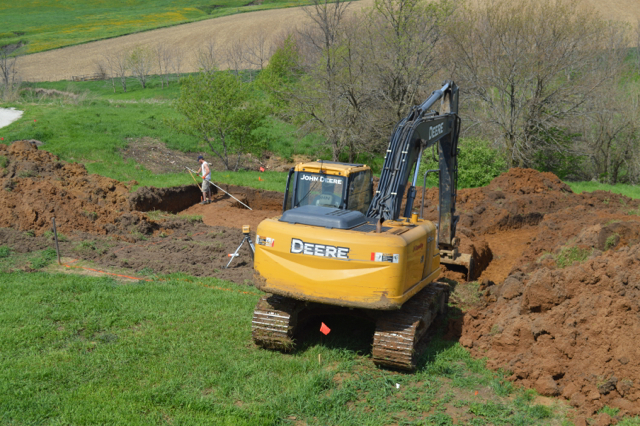 digging a foundation newlywoodwards07