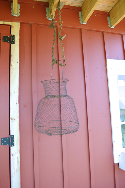 how to make a fish basket hanging planter1