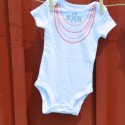 personalized girl onesies silhouette1