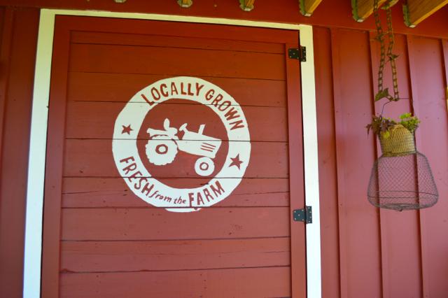 DIY barn door vintage sign painted2