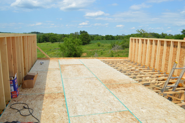 Raising walls and floor trusses18
