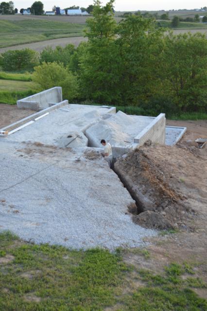 basement plumbing and walls June 201501