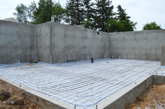 basement plumbing and walls June 201504
